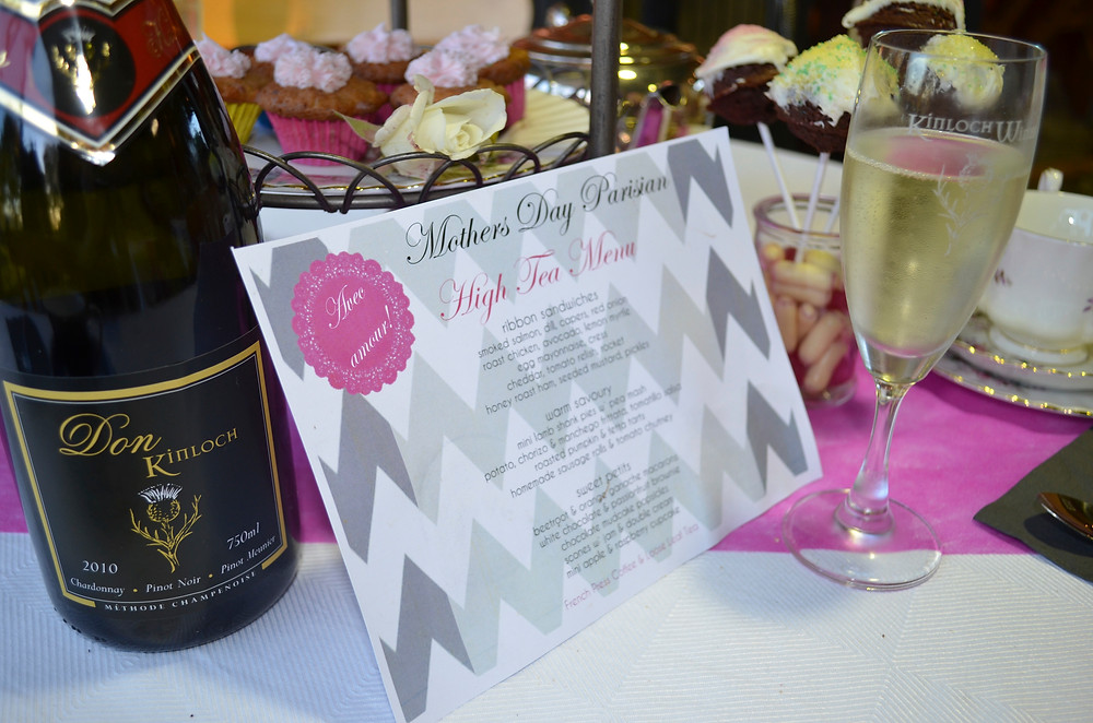 Mother's Day  High Tea @ Kinloch Vineyard