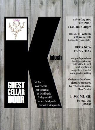 KINLOCH GUEST CELLAR DOOR