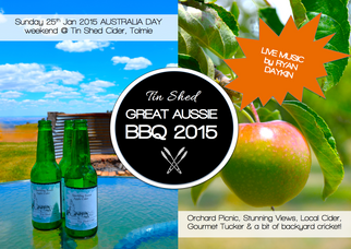 TIN SHED GREAT AUSSIE BBQ 2015