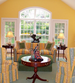cropped yellow room