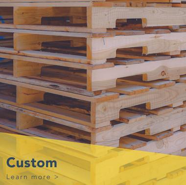 Custom Pallets Manufactured at Reston