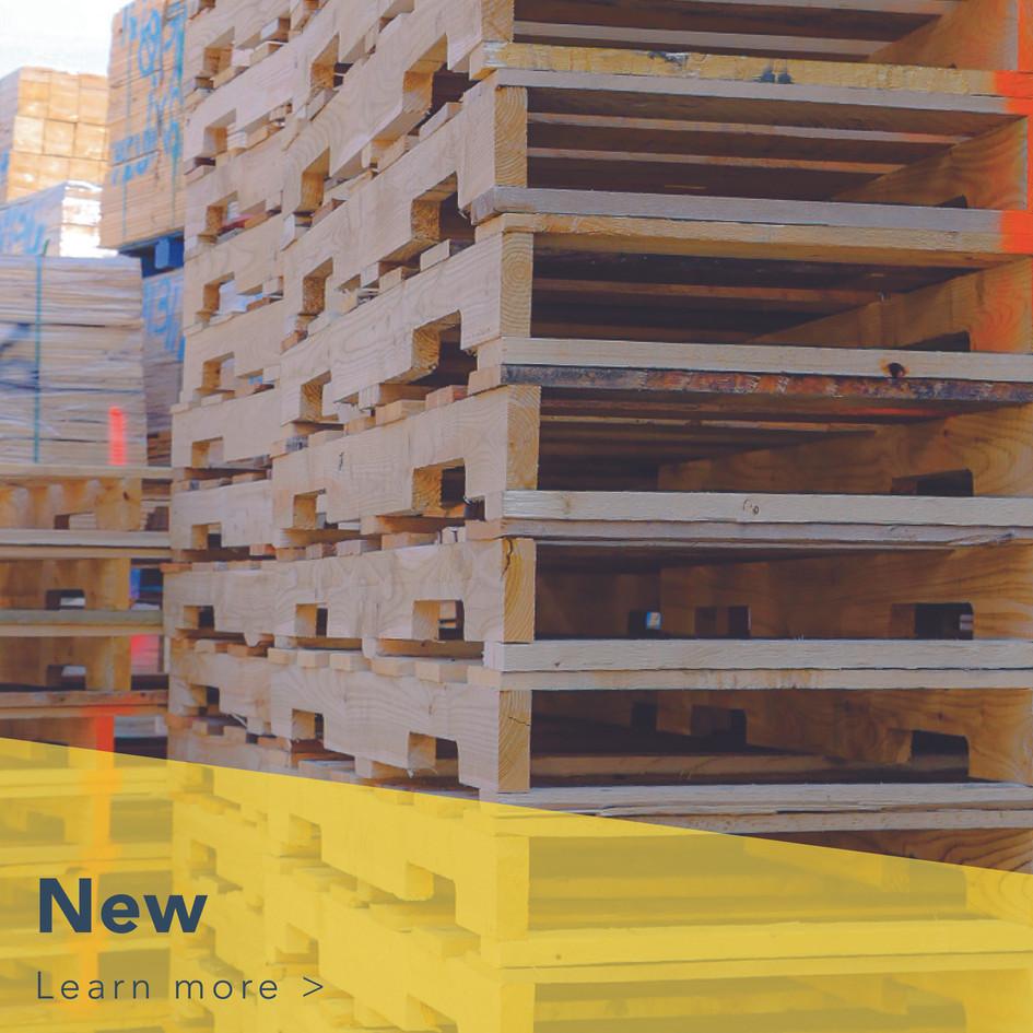 New Pallets Built at Reston