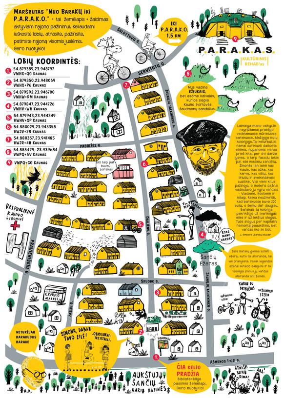 Barakai map