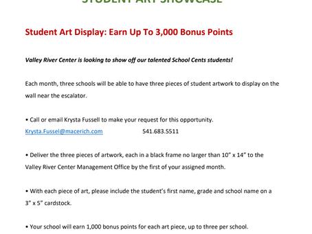 School Cents Fundraiser
