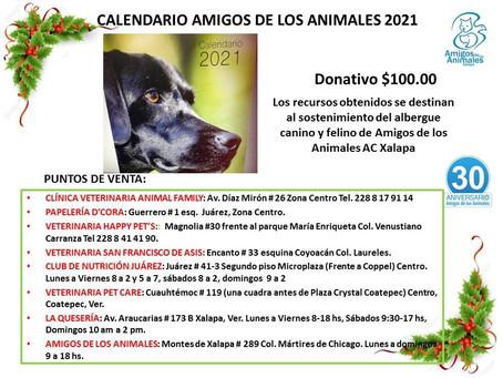 ACTIVIDADES DE AMIGOS DE LOS ANIMALES PARA ENERO 2021