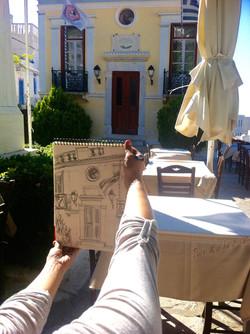 Sketching in Ioulis