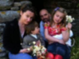 Sotiria Antonopoulou and family