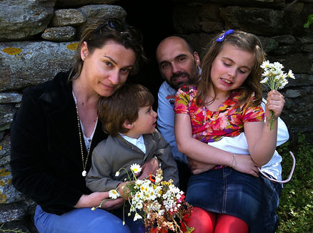 Sotiria Antonopoulou and family