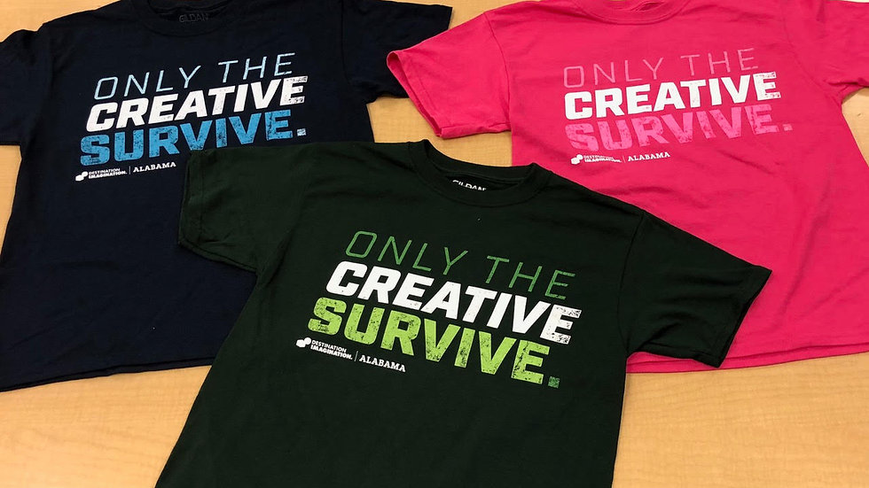 Only the Creative Survive Shirt