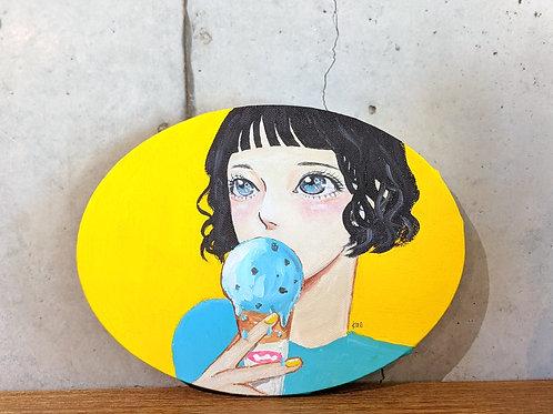 SANLDK × kae illustrationコラボキャラクターパネル(だ円)