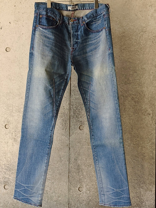 """《SANLDK》5P TAPERED JEANS """"GROW-rugged-"""""""