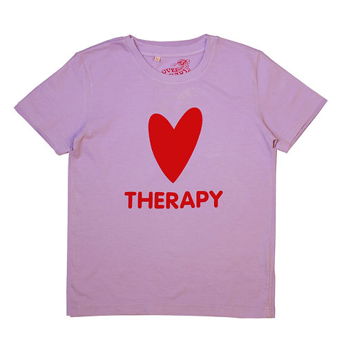 """T-shirt """"HEART THERAPY"""""""