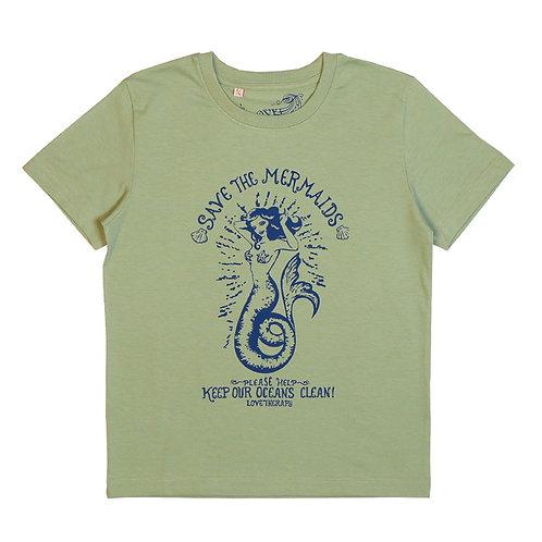 "T-shirt ""SAVE THE MERMAID"""