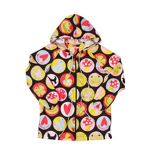 """Giacchina pioggia""""Emoji"""""""