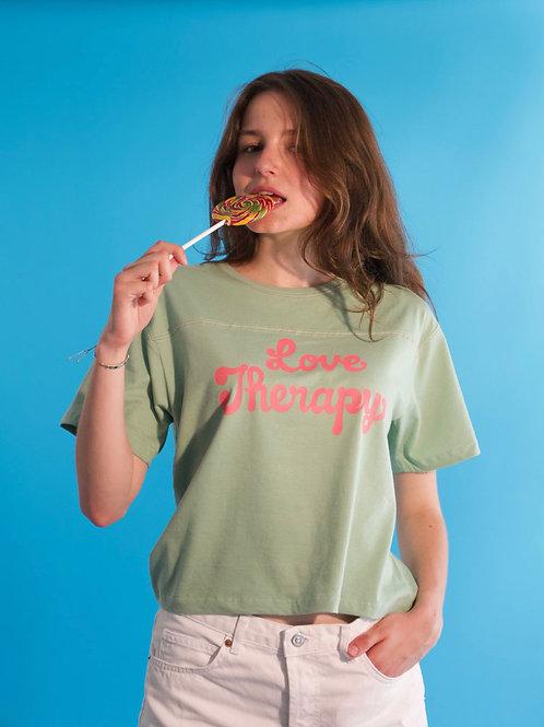 T-shirt Bubble, salvia