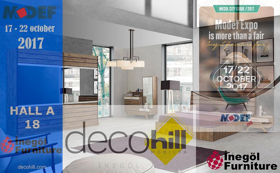Decohill Furniture Modef EXPO 2017 invitation