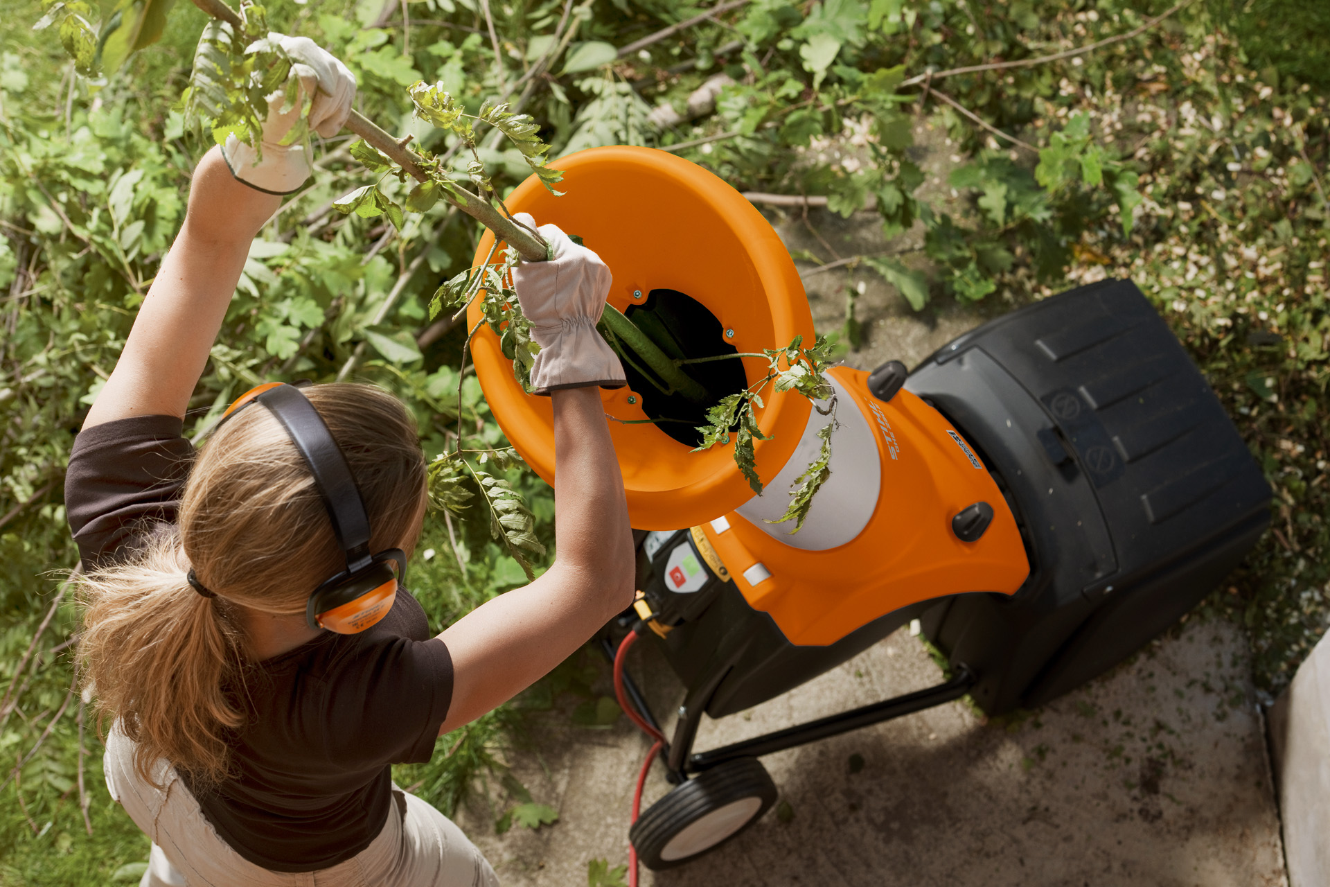 STIHL leaf shredder