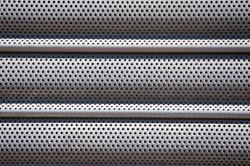 Perforated Door Panel