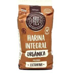 "Harina integral orgánica (EXTRA FINA) ""Brotes"""