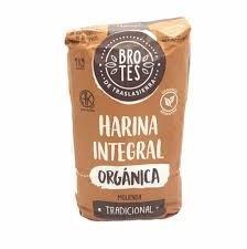 """Harina Integral Organica (TRADICIONAL) """"Brotes"""""""