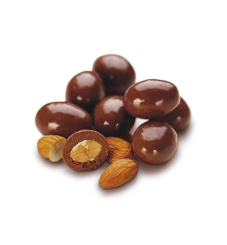 Almendras bañadas en chocolate x 250 gr