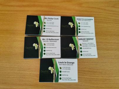 DeafNET calling cards