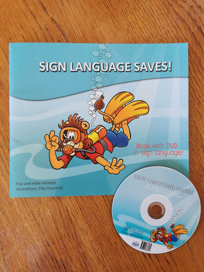 Booklet and disc design
