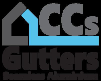 CC's Gutters logo design alternative