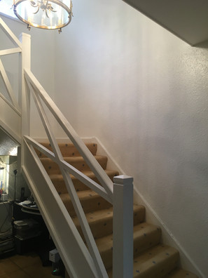 Freshen up of hallway and stairs