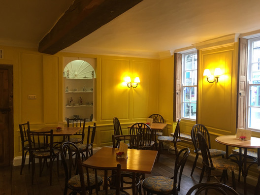 Freshly paint walls, Newly stripped shutters, sanded and waxed, ready for business again!