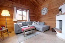 Wohlfühl-Wohnzimmer mit Kamin