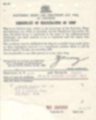 DLI Shop Certificate of Registration