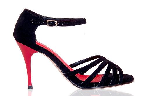 CASSIO BLACK & RED