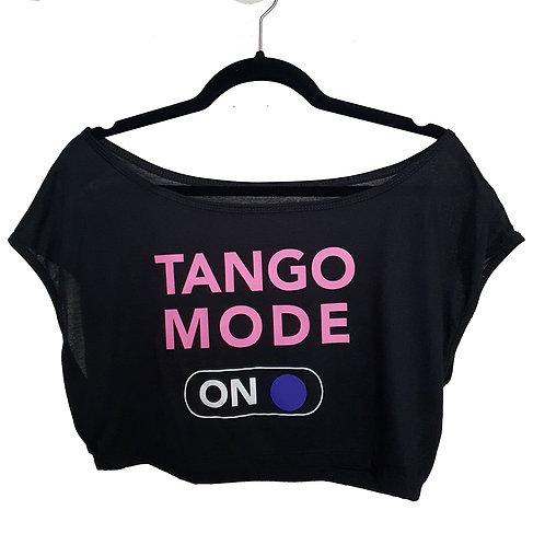TOP TANGO MODE NEGRO/ROSA