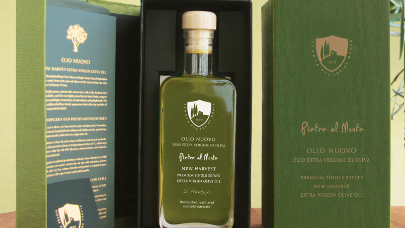 Olio Nuovo New Harvest Olive Oil