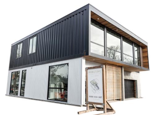 Billig 40 ft Luxus Modell Haus