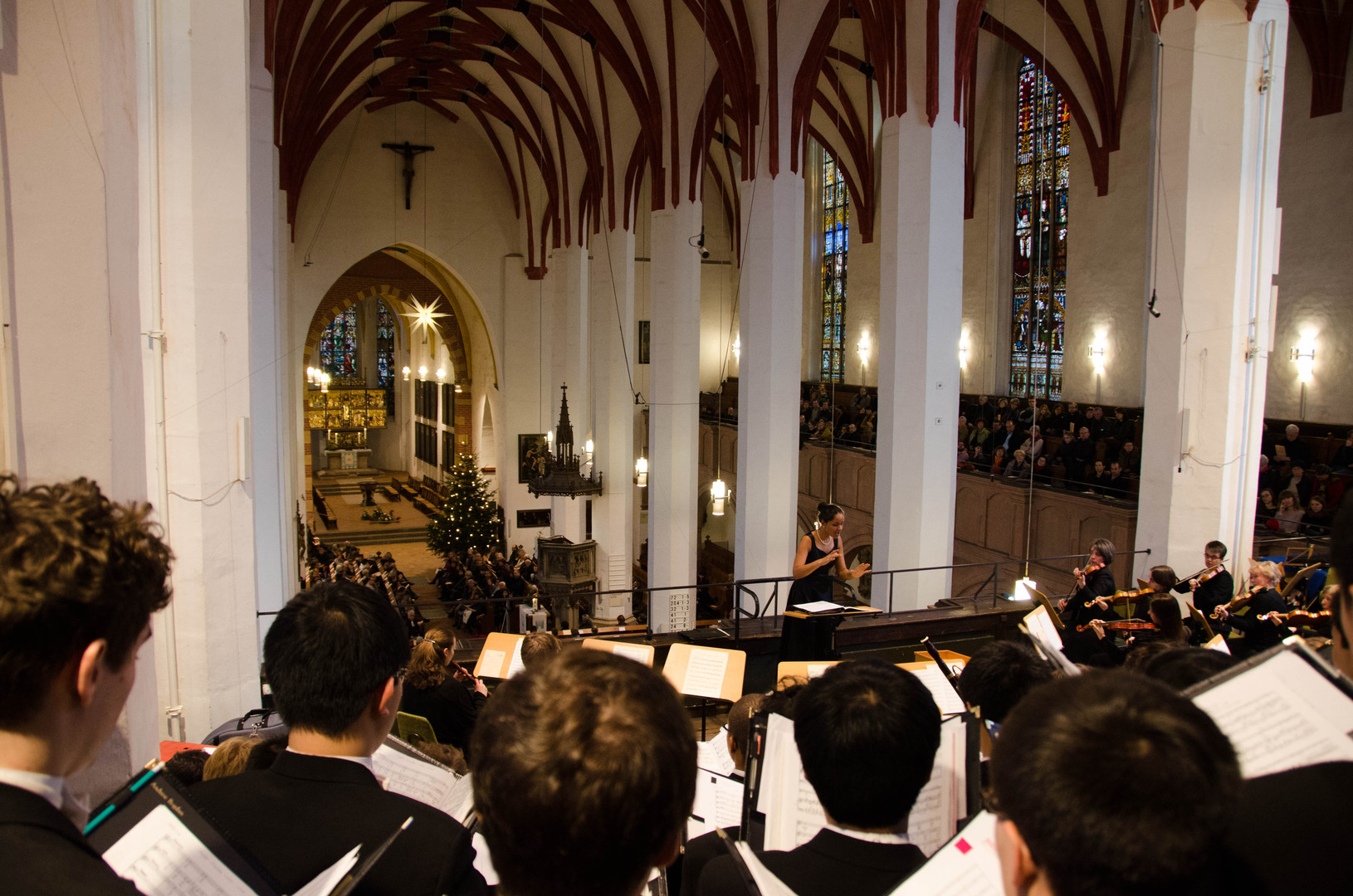 Bach BVW 118 / Leipziger Barockorchester and the Princeton University Glee Club / January 2014 / Kevin Lee