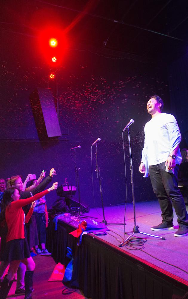 SF Opera Lab Pop Up; Oakland Edition / SF Opera Lab / March 2017 / Photo: Kristen Loken