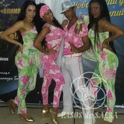 Кубинские танцоры на корпоративе