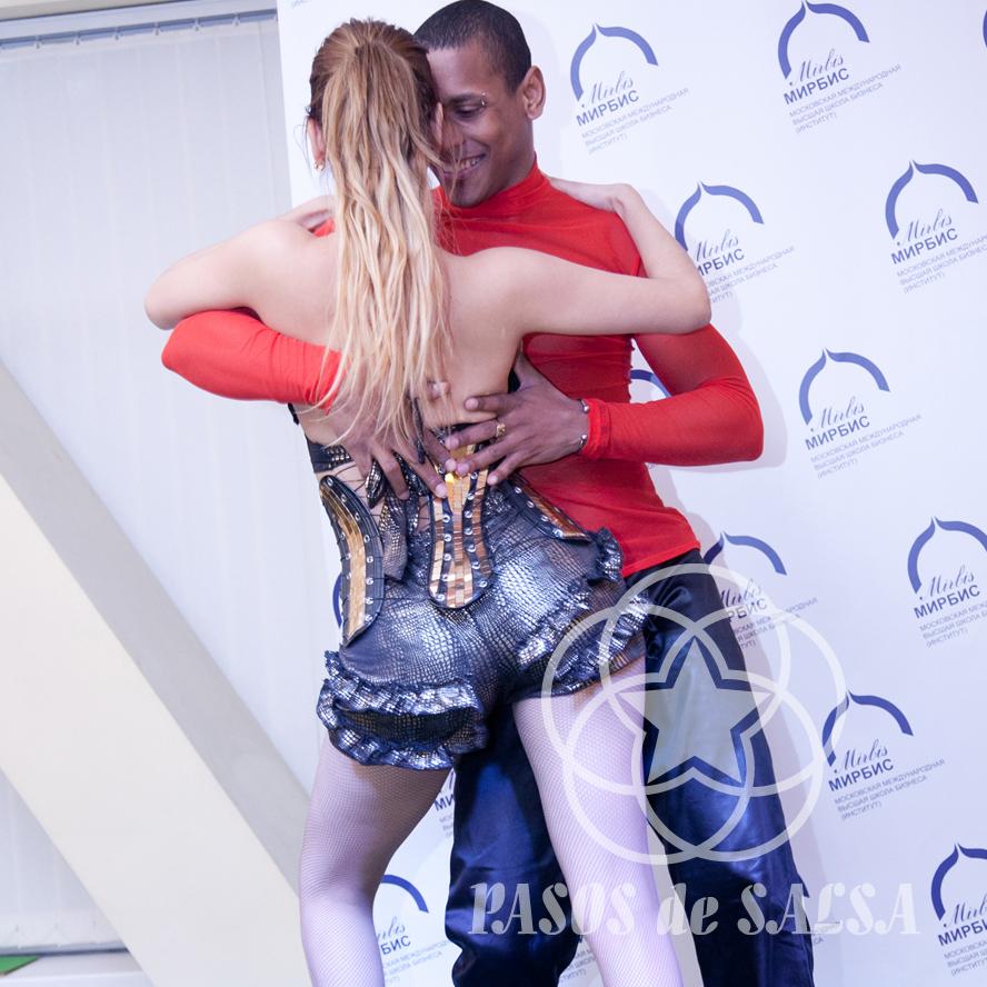 Выступление кубинских артистов на корпоративе