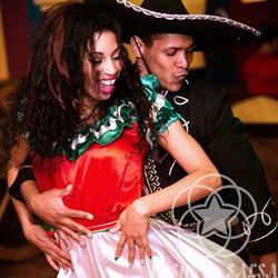 Латиноамериканское шоу, профессиональные танцоры
