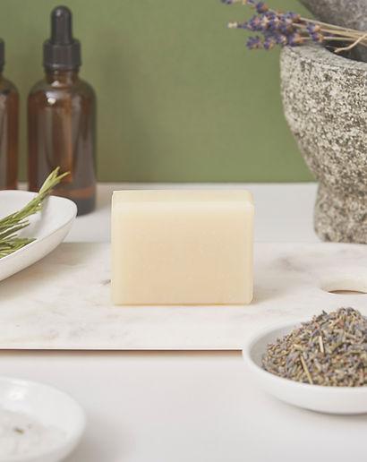20200817-28 Kentish Soap Co Shoot_S54 Shampoo Bar Lavender & Rosemary_2985_HighRes.retouch
