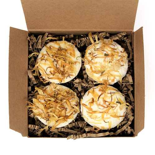 Box of 4 Blissful Bath Truffles