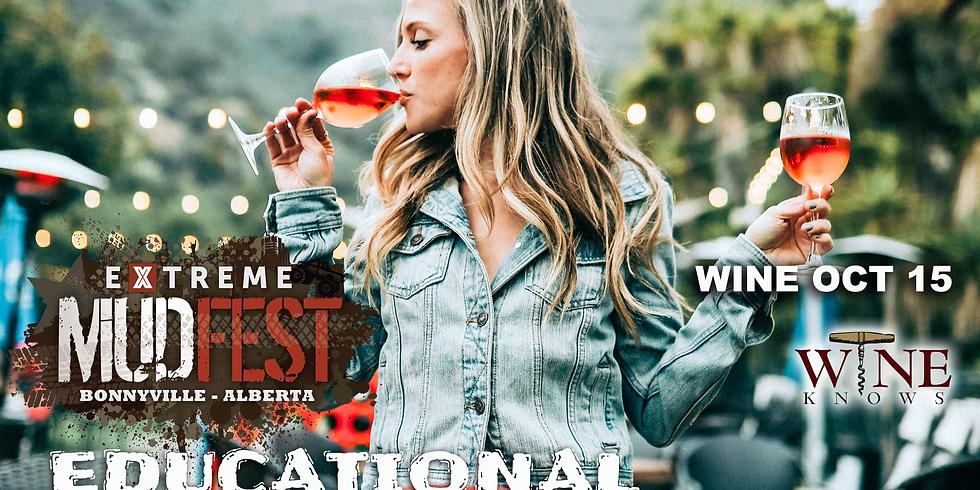 Mudfest Educational Wine Tasting Oct-15