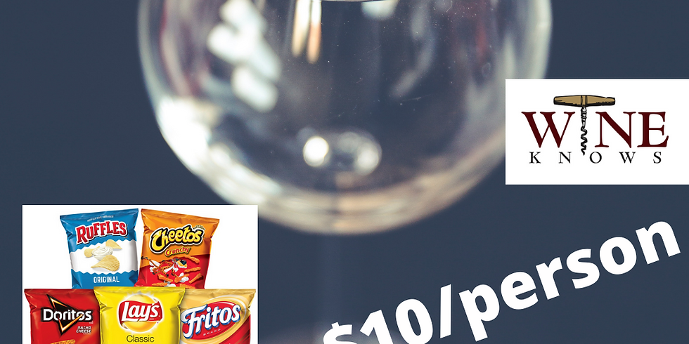 Virtual Wine Tasting Oct 22nd- Chip & Wine Pairing