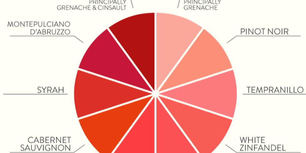 Wine Club Virtual April15th- Rose` Wines Around the World