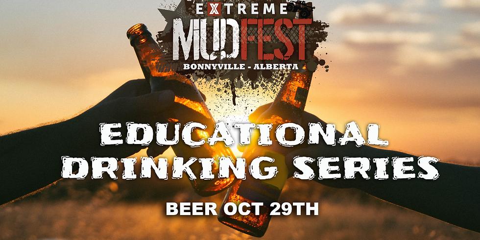 Mudfest Educational Beer Tasting Oct-29