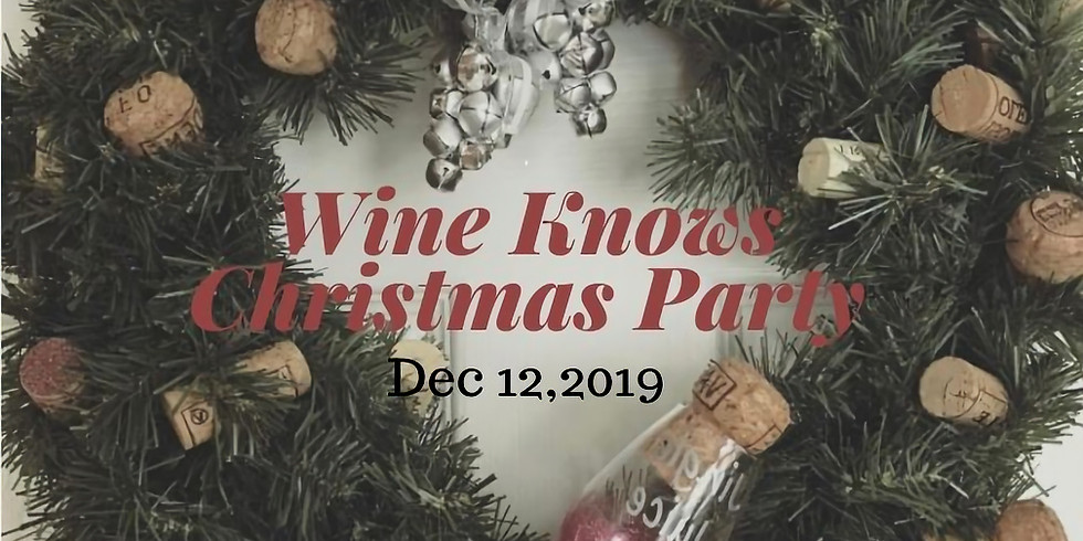Wine Knows Christmas Party-Cold Lake Dec 12