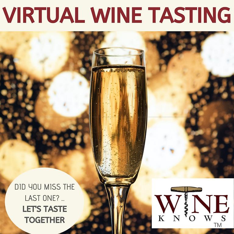 Wine Club Virtual June 10- Bubbles