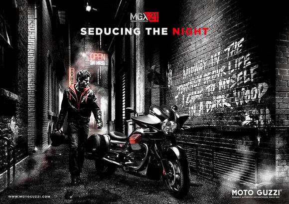 Campagna stampa Moto Guzzi